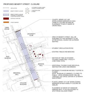 Benefit Street Closure